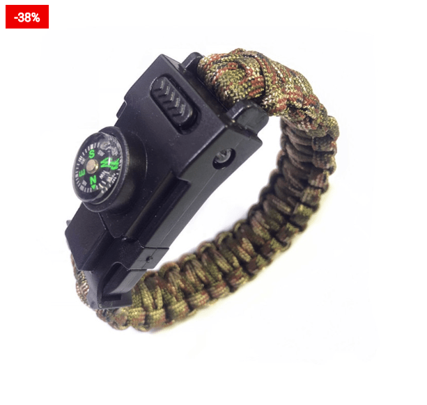 Paracord Survival Bracelet To Help You In Wilderness